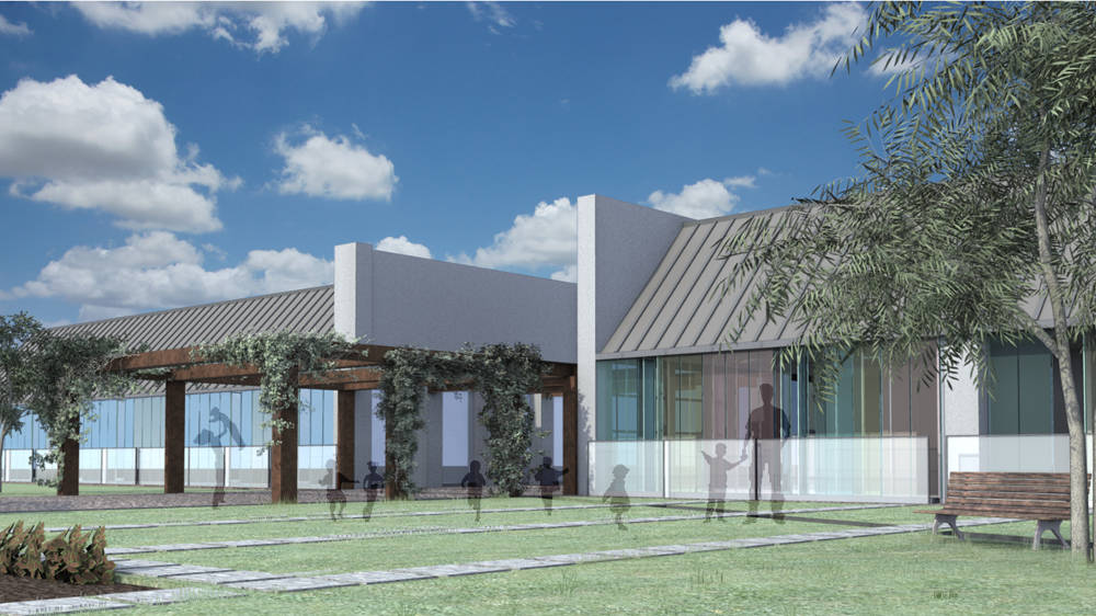 roma asilo render nursery school