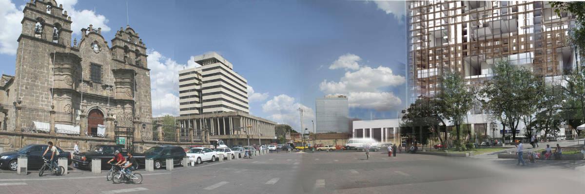 Guadalajara residential tower appartementi progetto messico
