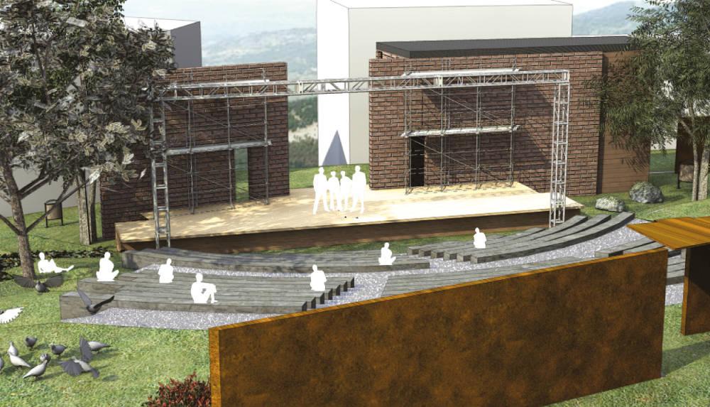 Sant'Agata di Esaro teatro anfiteatro concerti parco del pollino