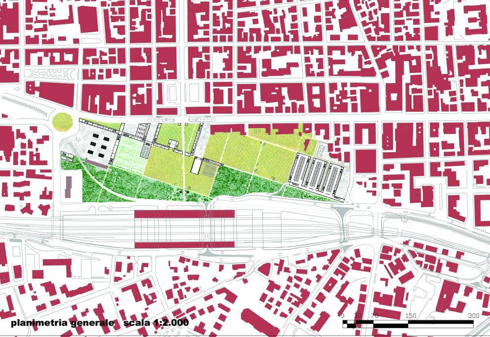 pescara riqualificazione urbana ex stazione centrale progetto architettura