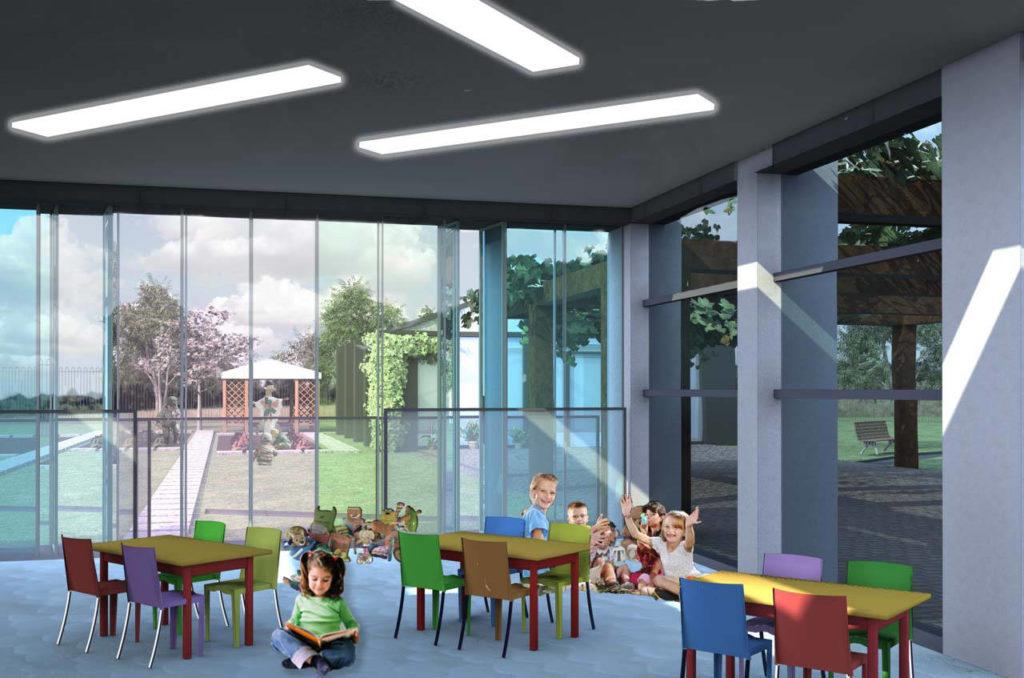 asilo roma scuola materna interni