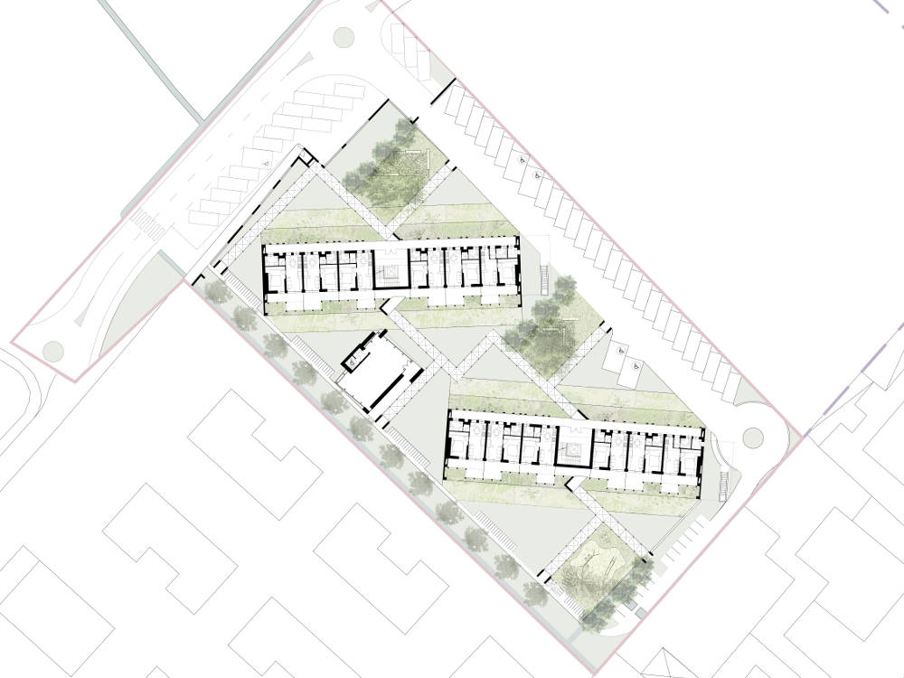 planimetria casorate residenze