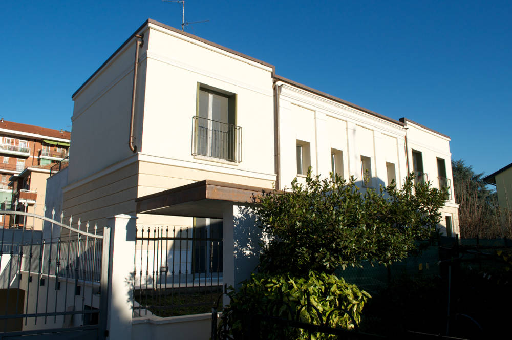 project architecture villa rozzano milano