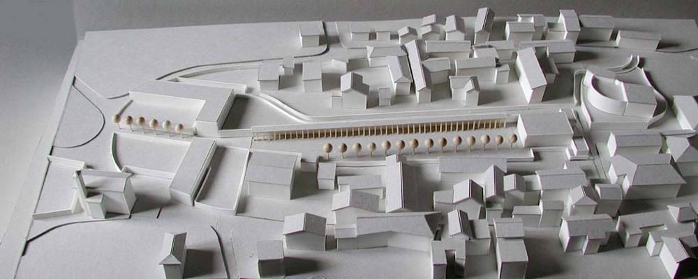 talamona scuola paesaggio modello maquette
