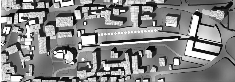 project talamona scuola planimetria paesaggio